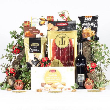 Cesta Detalle de Navidad-11 Tesoros Ibéricos-IMG_3914