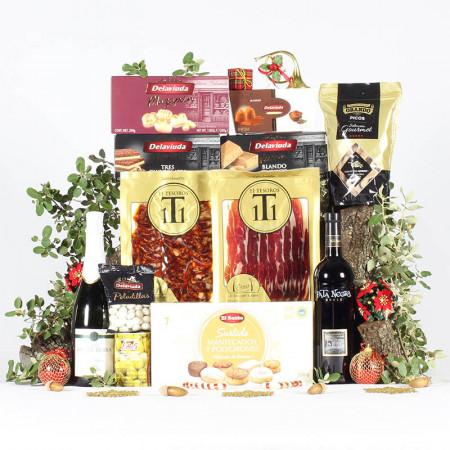 Cesta Preparación de Navidad-11 Tesoros Ibéricos-IMG_3919