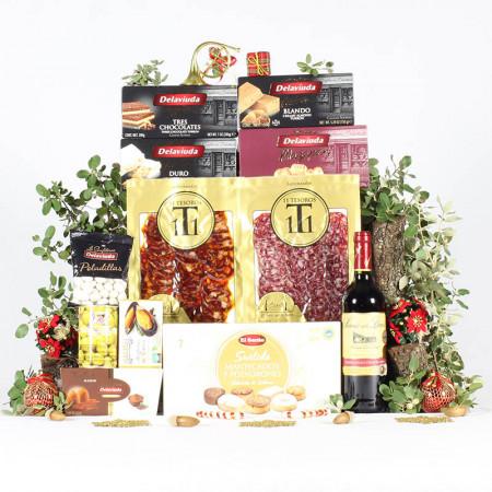 Cesta Compañía de Navidad-11 Tesoros Ibéricos-IMG_3923