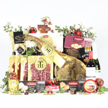 Cesta Marquesa de Navidad Premium-11 Tesoros Ibéricos-IMG_3955