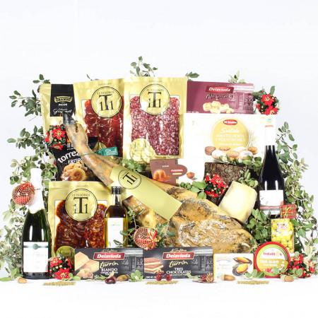 Cesta Duquesa de Navidad Premium-11 Tesoros Ibéricos-IMG_3965