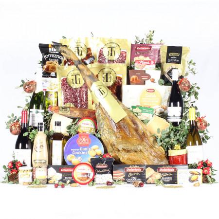 Cesta Rey de Navidad Premium-11 Tesoros Ibéricos-IMG_3982