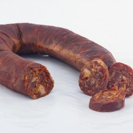 Longaniza Ibérica Chorizo en Herradura-11 Tesoros Ibéricos-Pieza y Lonchas IMG_0982