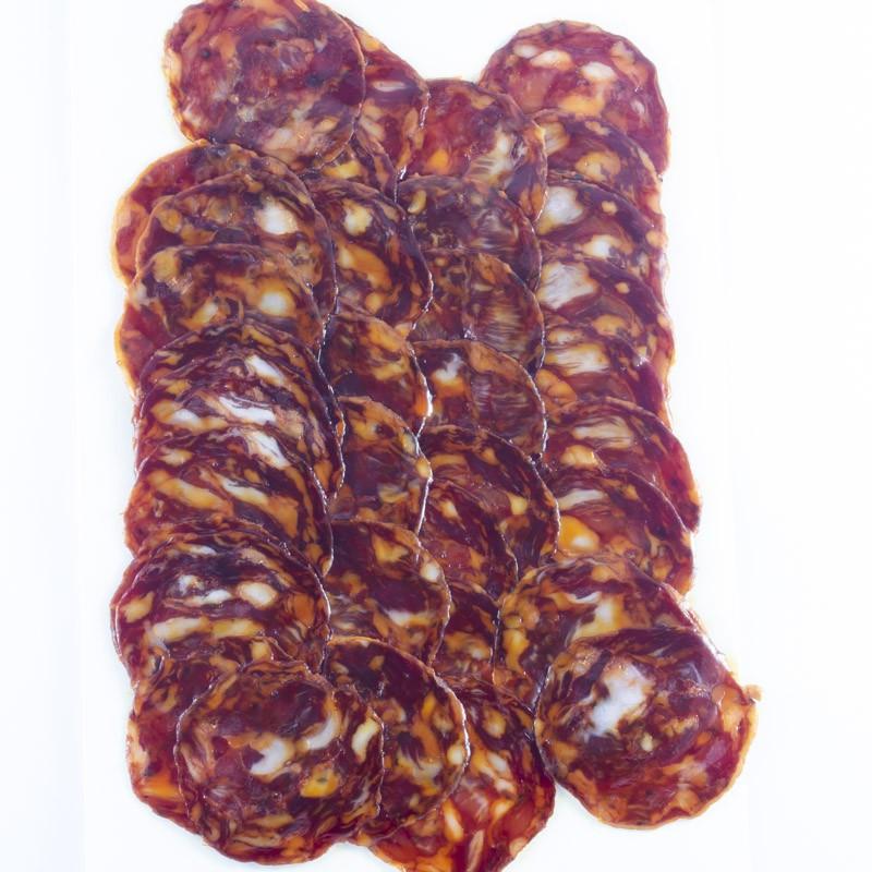 Chorizo Ibérico Bellota Loncheado-11 Tesoros Ibéricos-Sobre Interior IMG_1002