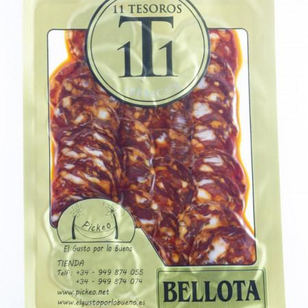 Chorizo Ibérico Bellota Loncheado-11 Tesoros Ibéricos-100 gr-Sobre Exterior IMG_1001